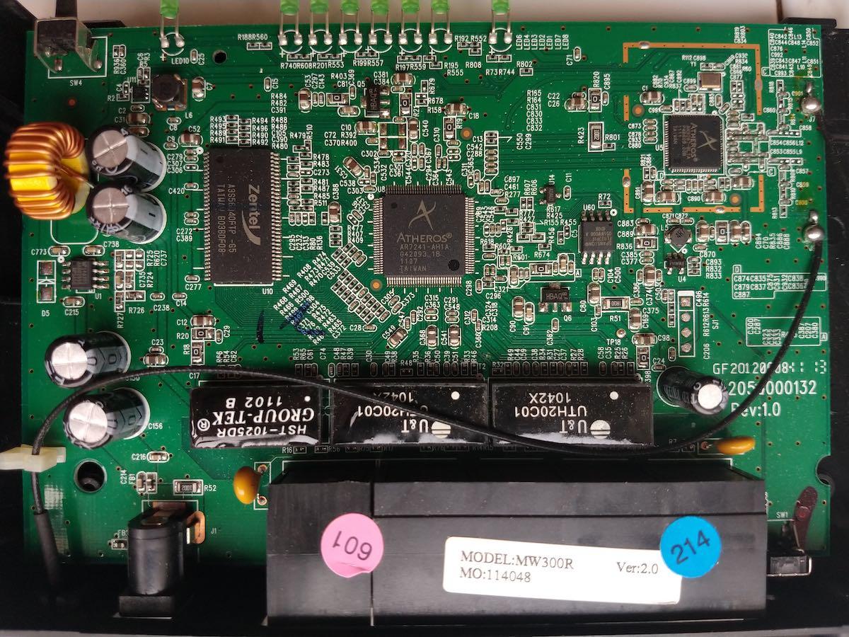 十年老路由的觉醒——TTL刷机水星MW300Rv2小记